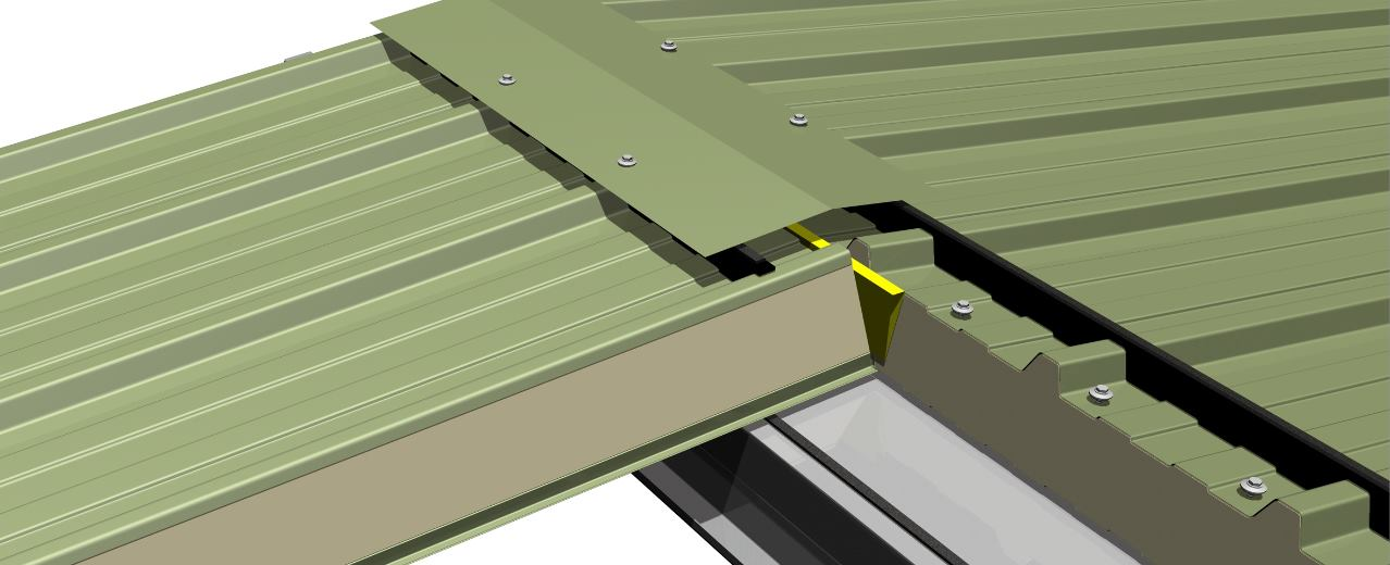 Application for AS35 Wall and Roof Panel System