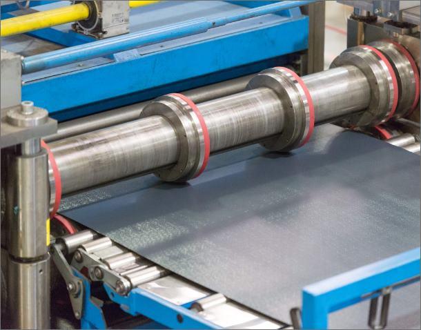 Flat sheet line – maximum sheet size 4M × 1 5M × 3mm