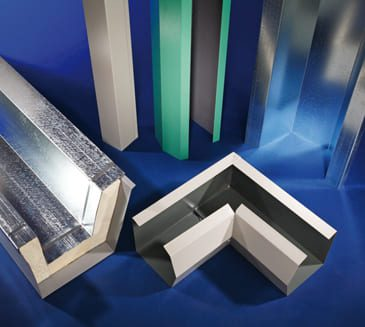 Insulated panels accessories Gutters and Downpipes