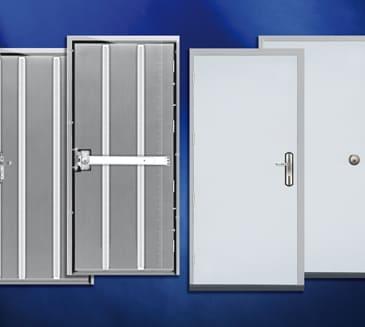 Insulated panels accessories Steel Doors