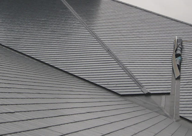 Insulated panels meta slate plus Suitable for roof pitches of 10° and above
