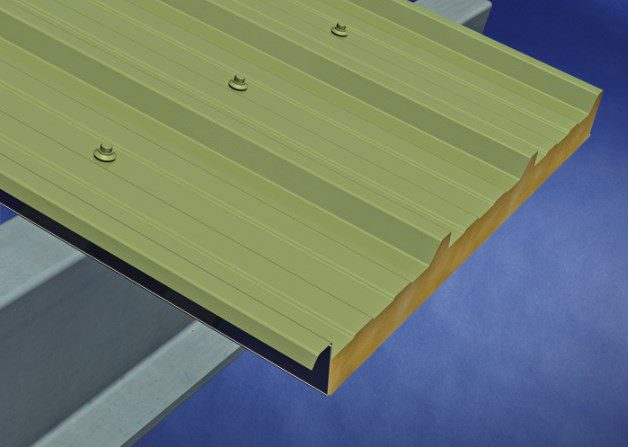 Panel Edge for AS35 Wall and Roof Panel System
