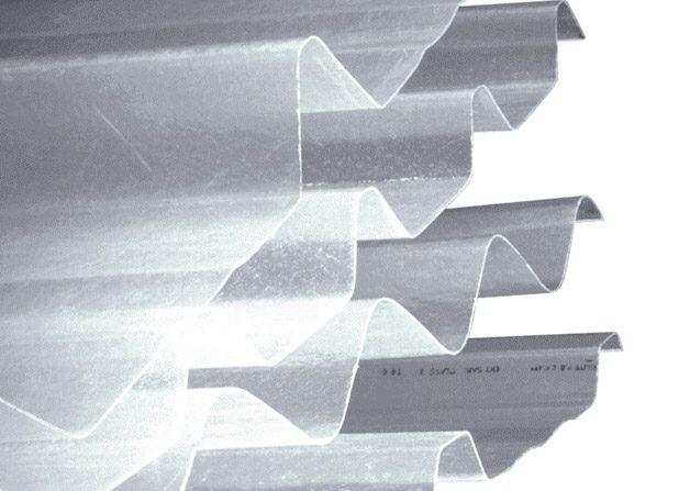 Single skin steel GRP profiles
