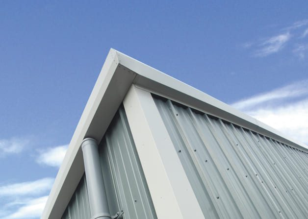 Single skin steel product Includes a comprehensive range of guttering flashings sealants and rooflights