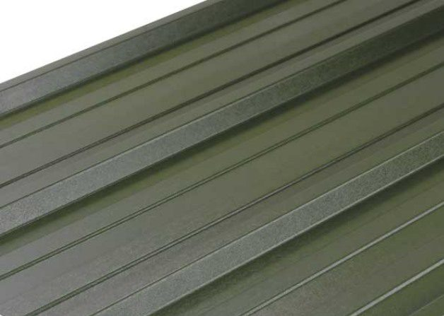 Single skin steel product a deep profile roof and wall sheet to match the AS35 insulated panel