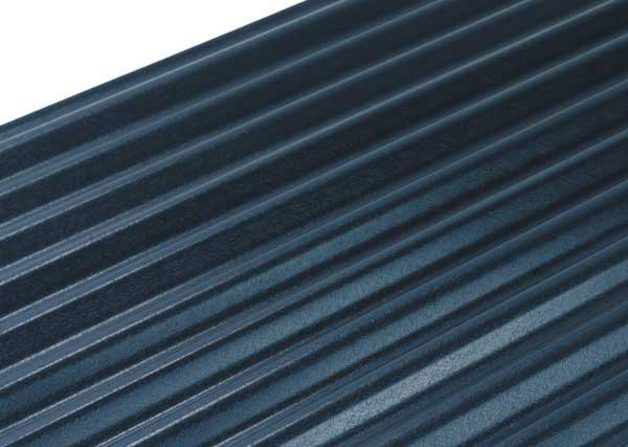 Single skin steel product shallow corrugated roof and wall profile which can be curved