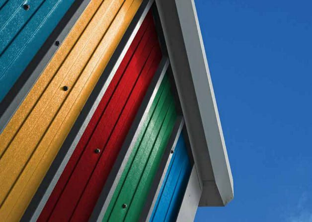 Twin skin product roof and wall profiles clean sharp profile in a range of colours and finishes