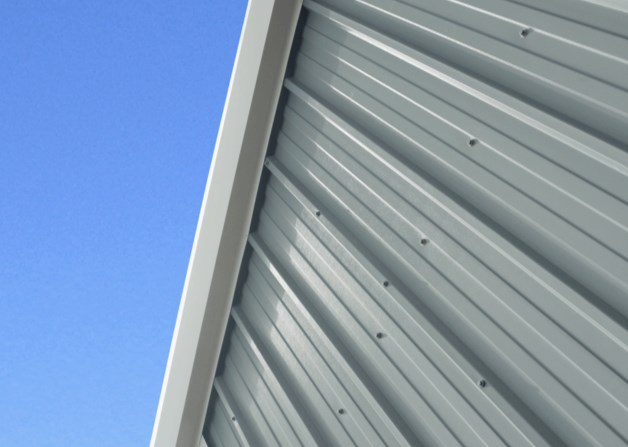 Wall panel view for AS35 Wall and Roof Panel System